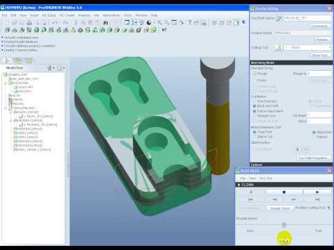 lập trình gia công CNC trên Pro Wifi 5.0 DCK09