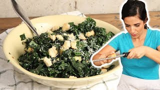 A Kale Salad You'll Actually Want To Eat