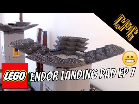 Lego Endor Landing Pad WIP: Episode 7