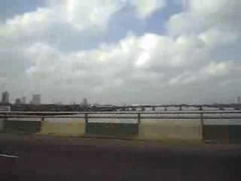 Nigeria,Lagos-from Third Mainland Bridge