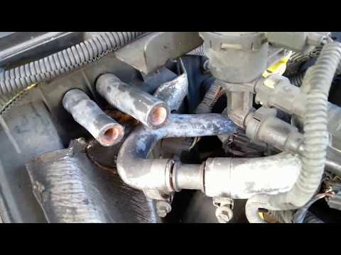 my car works with No Heater Core - cut hose used coupler to join ends bypass