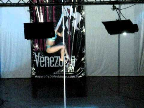 MISS POLE DANCE VZLA 2011 GANADORA 1°LUGAR ANDREA RODRIGUEZ