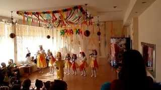 Десткий танец Самовар