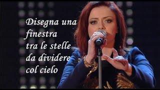 Una finestra tra le stelle Annalisa Karaoke Sanremo 2015 (Base al piano con testo)