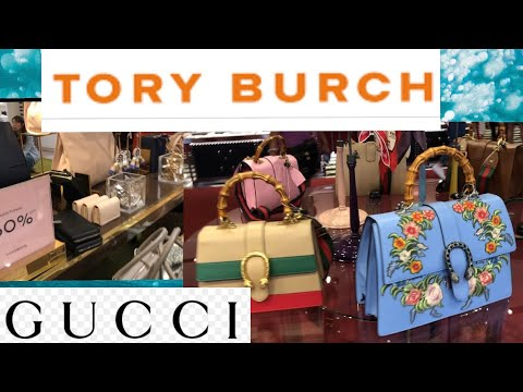 1f21f735d Gucci and Tori Burch Up to 50% OFF! Cabazon Outlet Purse Shopping With  Hubby and Pixie!
