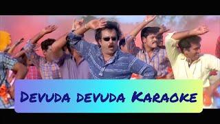 Devuda devuda Karaoke   Lyrics   Chandramukhi   Vidyasagar   HD 1080P