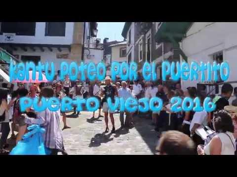 Kantu Poteo por el Puertito Viejo de Algorta 2016