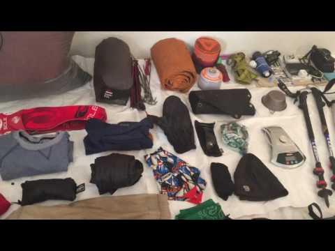 Continental Divide Trail Thru Hike 2017 Gear Loadout