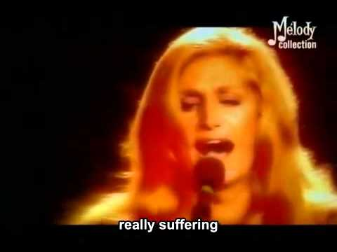 Dalida And Serge Lama Je Suis Malade English Subtitles Youtube