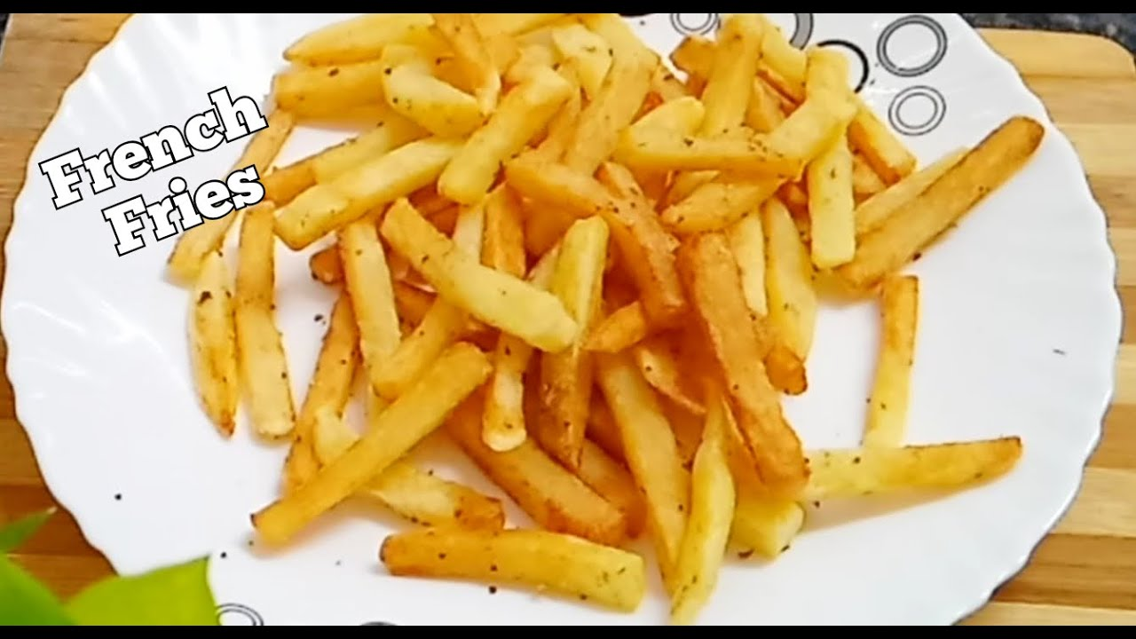 Perfect French Fries Recipe | Crispy Finger Chips | Kids Special