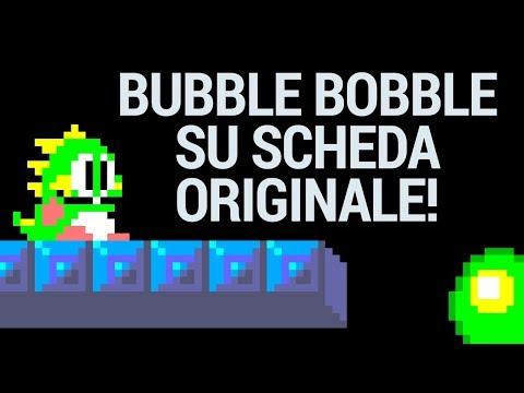 Bubble Bobble Giocato E Finito Su Scheda ORIGINALE