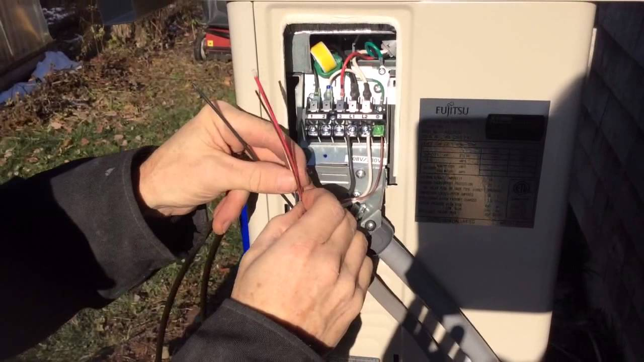 Heat pump installation How to do the electrical in 5 easy