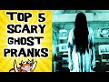 Top 5 Scary Girl Ghost Pranks (and Funny Bonus) - Prank Compilation Ninjacowtv video