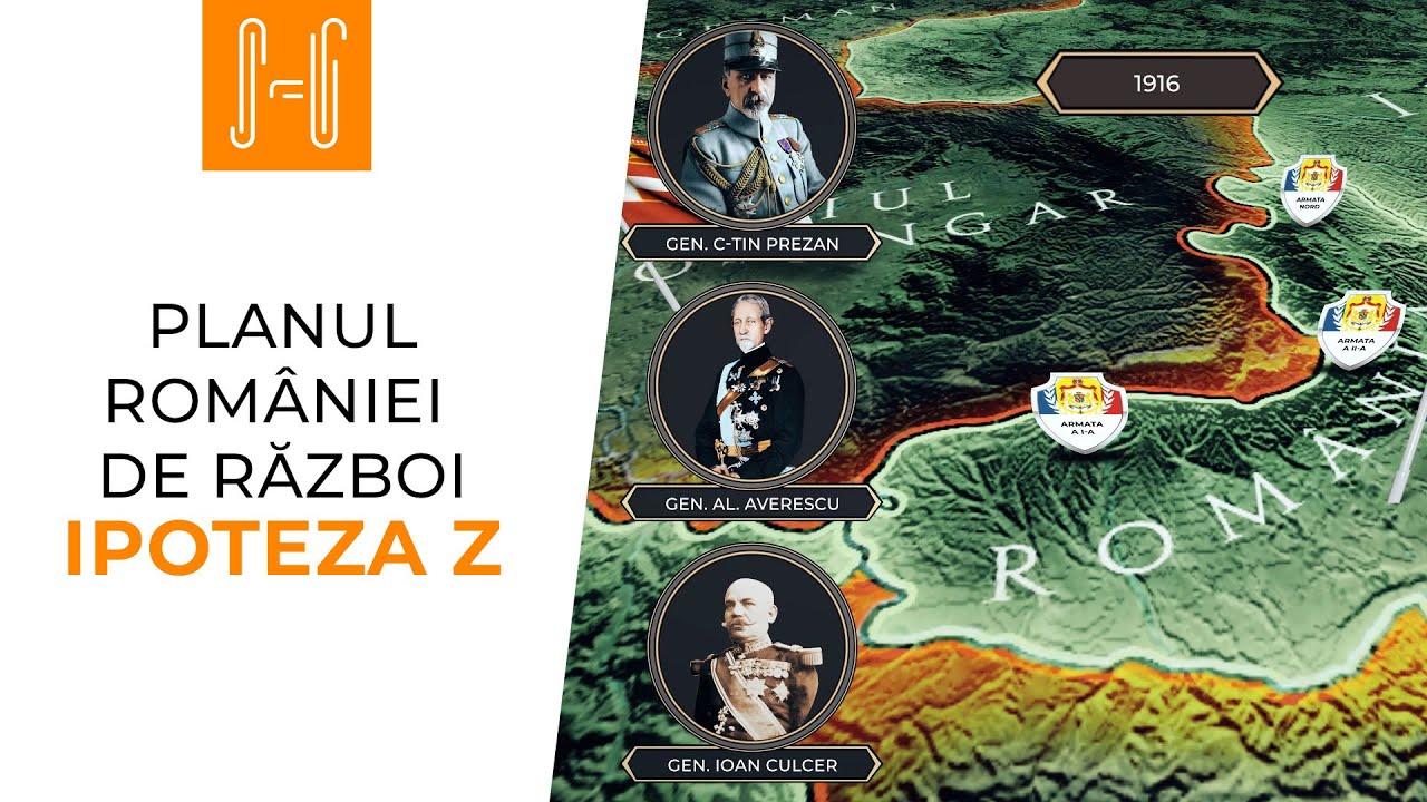 Planul Romaniei de razboi: Ipoteza Z // Romania's war plan - Plan Z // English subtitle in CC