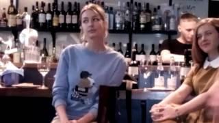 Телеканал «Dомашний» и актриса Евгения Лоза представили сериал «Восток-Запад» в Петербурге(4)
