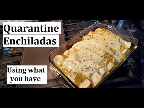Pork Enchiladas | Quarantine Cooking | Use What You Have