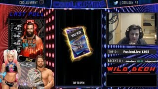 50K PACK OPENING!!! 2 SHATTERED PULLS!!!!  |  WWE Supercard #2 (Season 5)