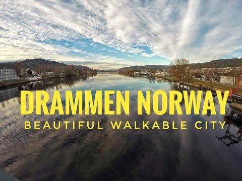 Norway HD | Drammen City | Best Walkable City