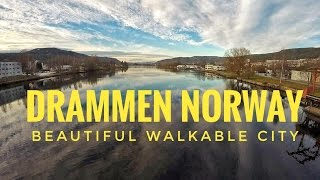 Norway HD | Drammen City | Best Walkable City