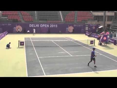 Yuki Bhambri vs Radu Albot, Delhi Open 2015