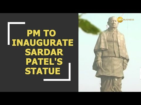 PM to inaugurate Sardar Vallabhbhai Patel's statue in Gujara