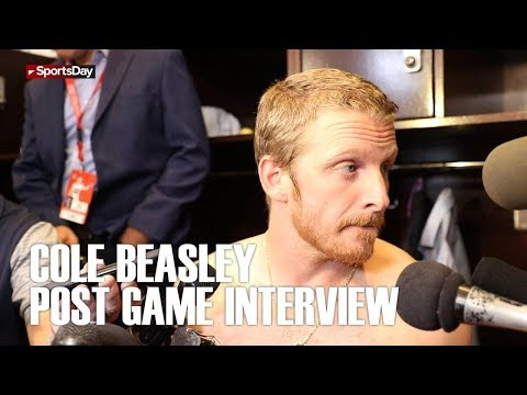 Cole Beasley post game interview after huge win over the Jacksonville Jaguars