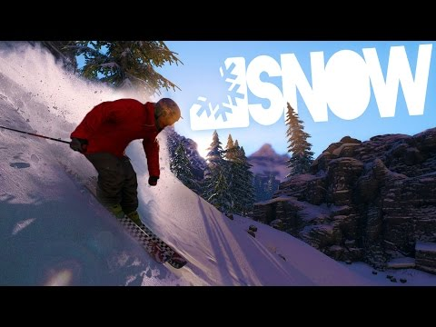 Snow The Game - Deadly Skiing FUN! - (SNOW 2016 Gameplay Funny Moments)