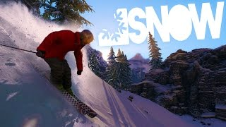 snow the game deadly skiing fun snow 2016 gameplay funny moments