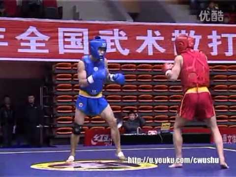 Chinese Sanshou Championship 2013 - Zhu Yang Tao (Shanghai) VS Yinbao (Guangdong)