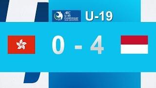 HONGKONG 0 VS 4 INDONESIA - AFC CHAMPIONSHIP 2020 Qualifiers