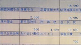 給与明細 NTTドコモの部長のやばすぎる給料2