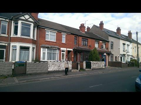 Români în Anglia - Casa în care locuiește soțul meu Cristi