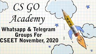 CSEET Whatsapp & Telegram Group   CSEET November 2020   CS GO Academy
