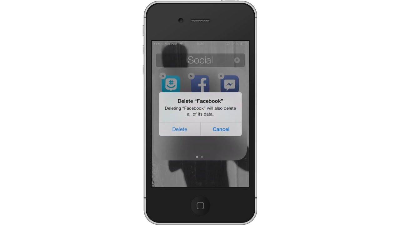 facebook iphone app issues