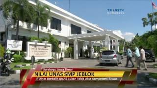 Nilai Unas SMP Surabaya Jeblok