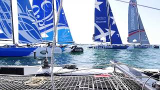 ETNZ: Extreme Sailing Series Oman- Race Day 1