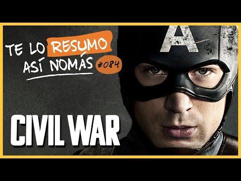 Capitan America Civil War | Te Lo Resumo Así Nomás#84