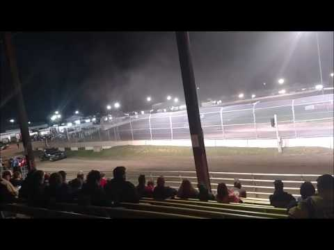 Plymouth Dirt Track Late Model Feature mp4 6 24 2017