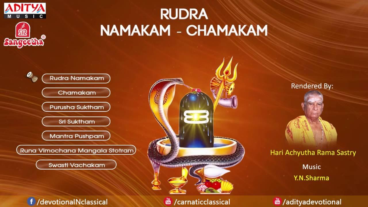Download Rudra Namakam Chamakam by Y N  Sharma   YouTube