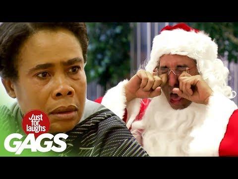 Santa HATES Kids Prank