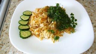 Рис с капустой. Простой и вкусный рецепт