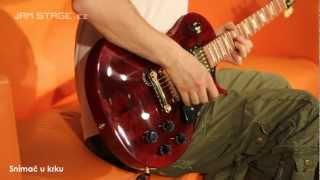 Gibson LP Studio Wine Red Gold Hardware - Granadillo (Aivn)