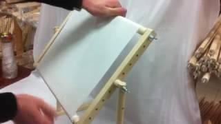 Станок для вышивания Березка. Как правильно крепить канву!