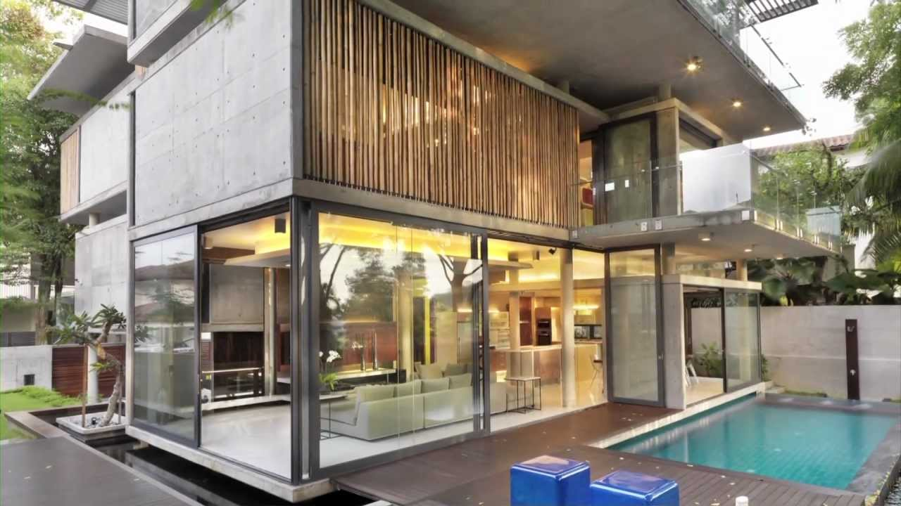 Sustainable design in this kuala lumpur house with climate for Best house design tropical climate