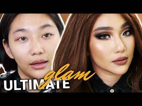HALA! PAANO MAG-SMOKY EYE? (Ultimate Glam Makeup) | Raiza Contawi thumbnail