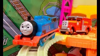 Thomas and Friends Hyper Glow Station - Thomas the Engine Trackmaster Hyper Glow Trains - Toy Trains