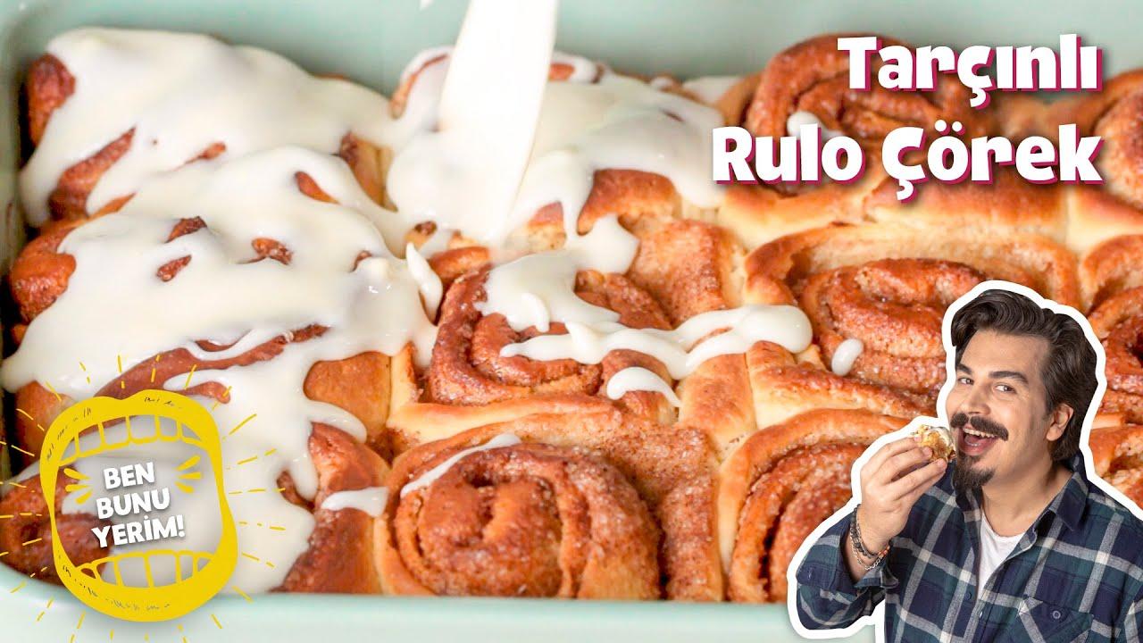 Tüm Dünyanın Bayıldığı Tarçınlı Rulo Çörek Tarifi (Cinnamon Rolls) | #BenBunuYerim 47