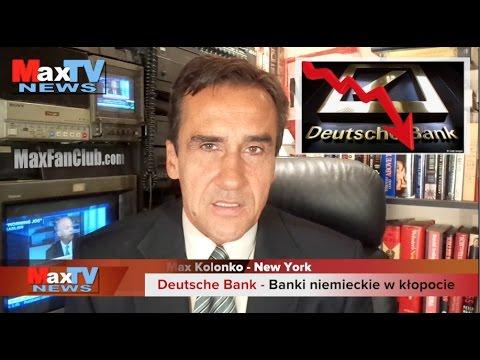 Banks in turmoil - Banki niemieckie w kłopocie - Max Kolonko Mówi Jak Jest