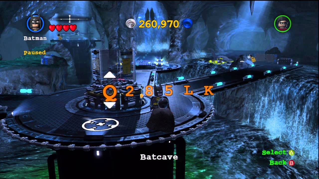 LEGO Batman 2: DC Super Heroes - How To Enter Cheat Codes ...