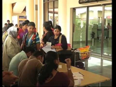Ten more Indian nurses stranded in Libya arrive home